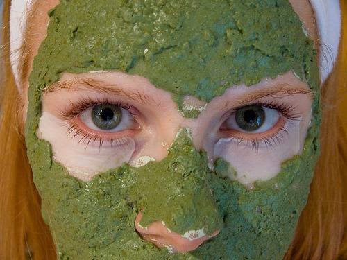 Las máscaras para los ojos de las arrugas del espino cerval de mar