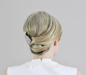 peinado updo envuelto final