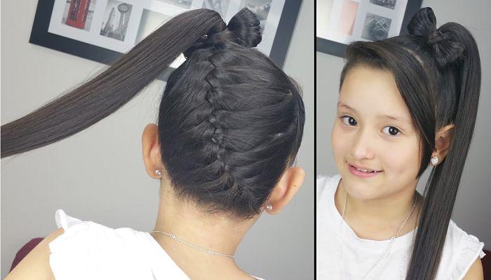 Fotos moda peinados para ir de fiesta trenza de raiz - Peinados de moda faciles de hacer en casa ...