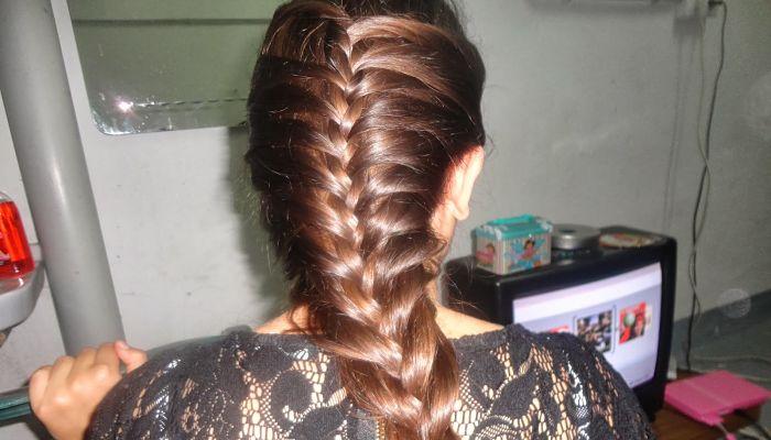 Faciles paso a paso peinados recogidos fciles fiesta - Peinados de moda faciles de hacer en casa ...