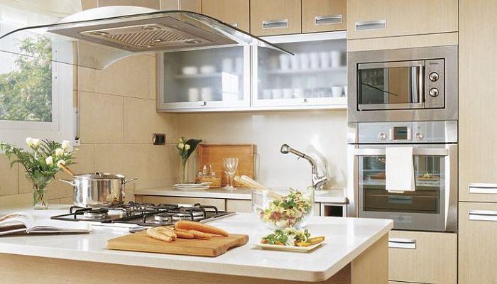 como decorar pequeñas cocinas