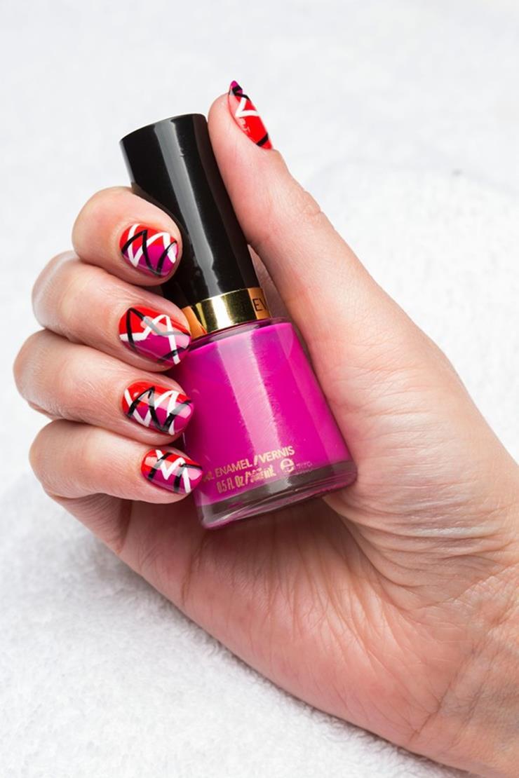 como hacer uñas decoradas