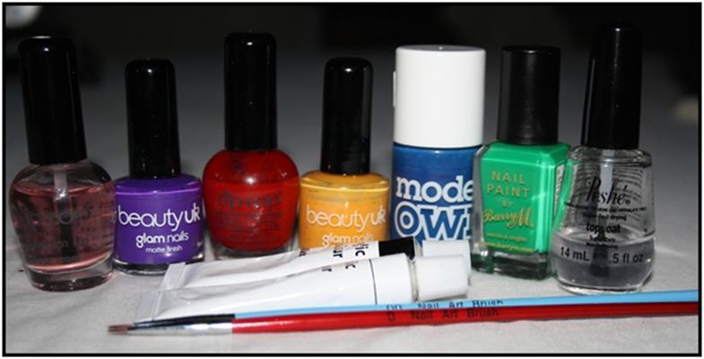 bonitos diseños para uñas
