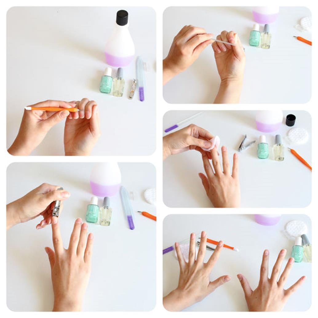 Como pintarse las u as 3 t cnicas para pintarse las u as - Como pintarse las unas bien ...