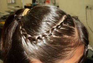 peinado para comunion liso 2