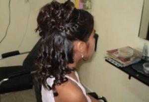 peinado para comunion corona 3