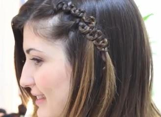 peinados fáciles para cabello corto. Opción 2