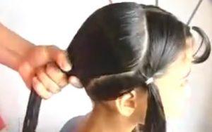 peinado para comunion