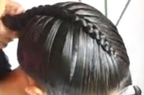 peinado para comunion trenzas 2