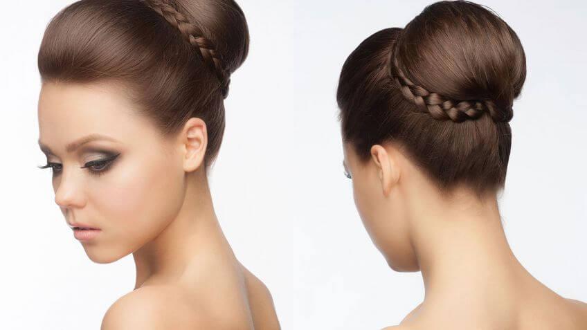 4 Peinados Para Bautizos Que Tu Misma Puedes Elaborar - Peinados-para-un-bautizo-de-dia