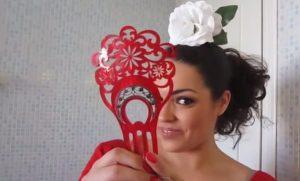 peinados de flamenca