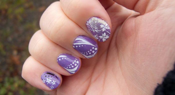 mejores fotos de diseños de uñas