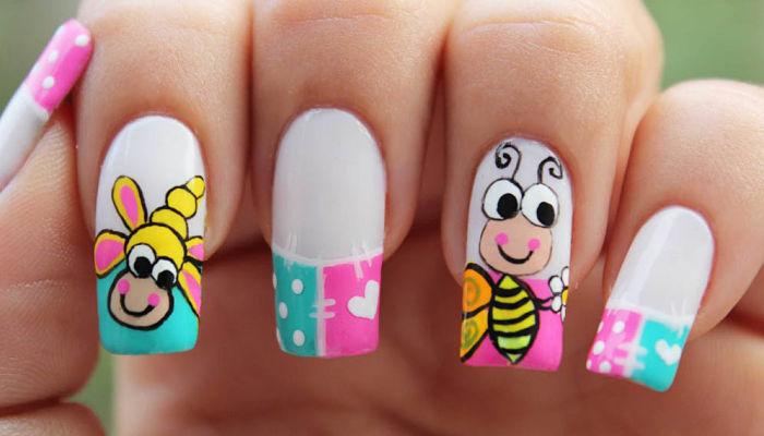 estilo de uñas decoradas