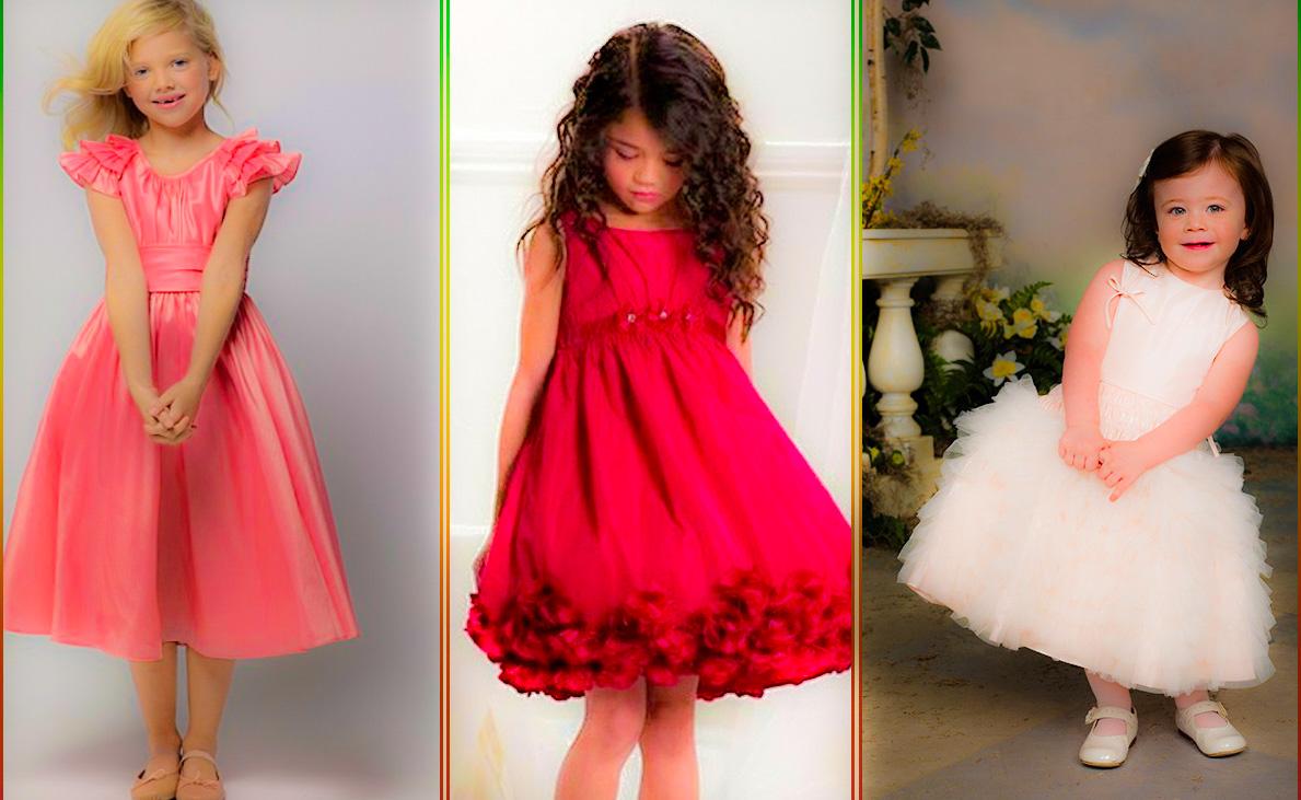 Los Vestidos de Niña para Boda más Hermosos
