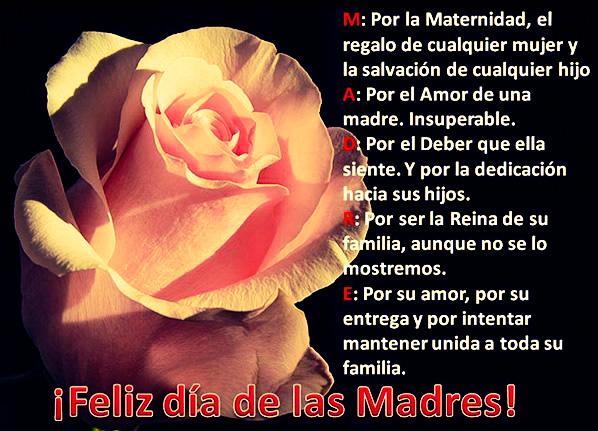Imagenes con Frases Bonitas para el día de las Madres