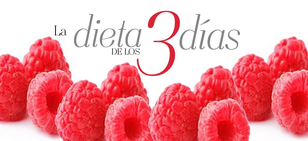 Dieta de los 3 Dias