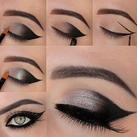 Como maquillarse los ojos paso a paso gu a practica for Como maquillar ojos ahumados paso a paso