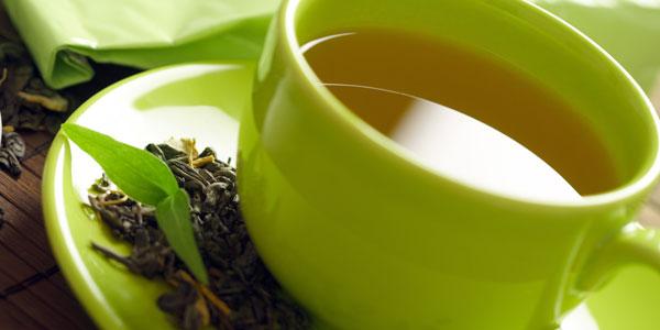 una dieta de te verde