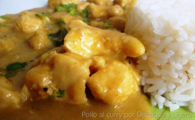 Pollo al Curry con Coco