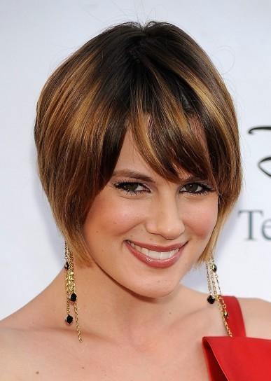 Cortes de cabellos cortos para caras ovaladas