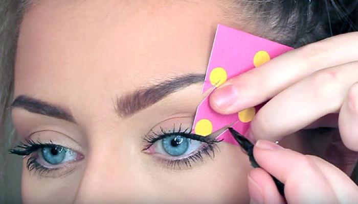 trucos para delinear los ojos