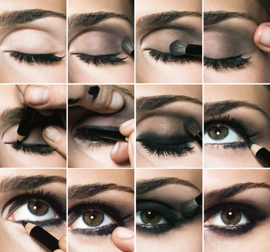 como pintarse los ojos al estilo ahumado en 3 minutos