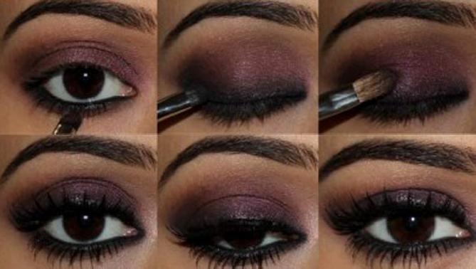 Como pintarse los ojos al estilo ahumado en 3 minutos - Como pintarse bien ...