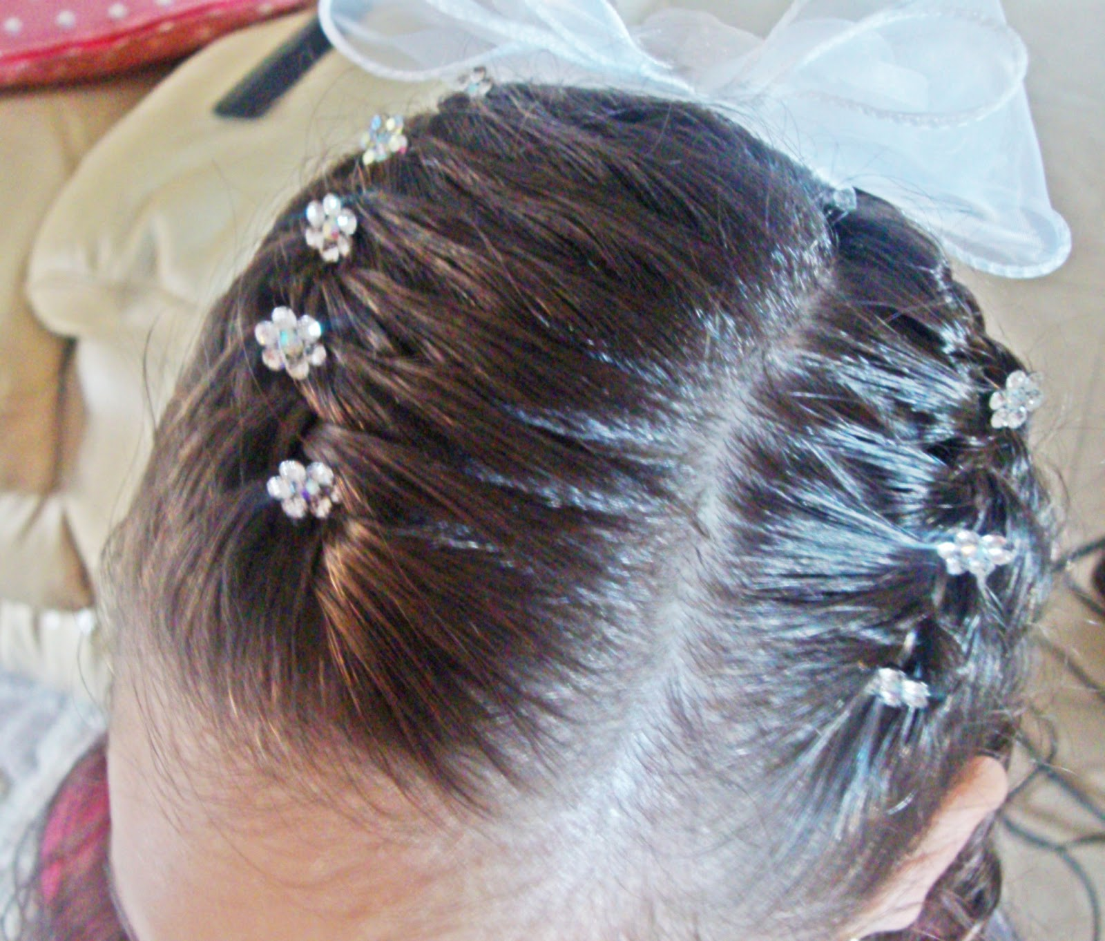 3 Ideas De Peinados Para Ninas De Comunion Muy Faciles - Peinados-para-comunion-de-nia