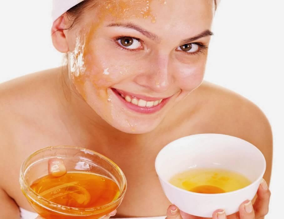 recetas caseras con miel y huevo
