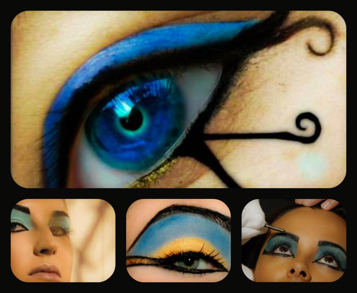 8997e04a3 Todo Sobre Maquillaje de Cleopatra: Paso a Paso.