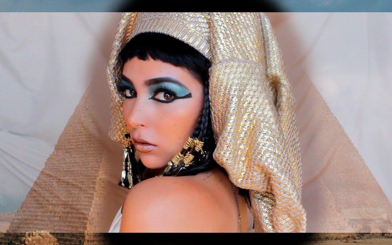 maquillaje de cleopatra