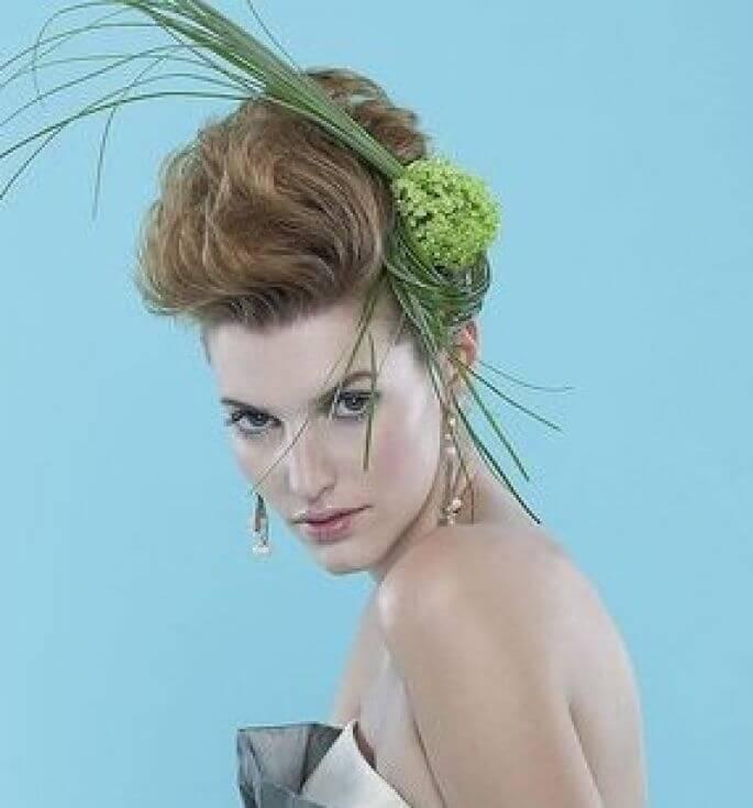 peinados de bodas para pelo corto