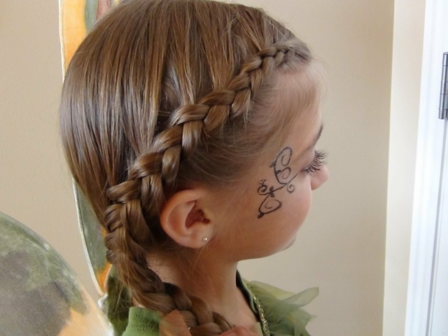 peinado de nias