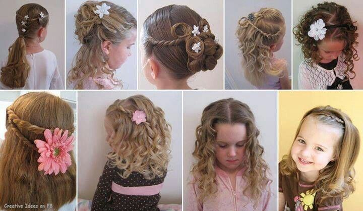 peinados para nia de tres aos