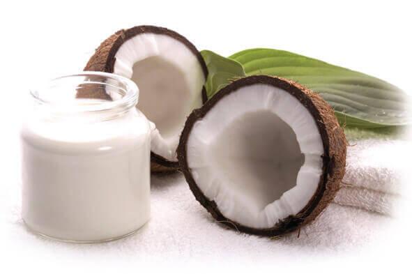 tratamiento para alisar pelo con leche de coco