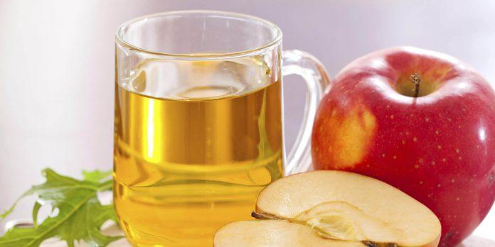 vianagre de manzana para el cabello