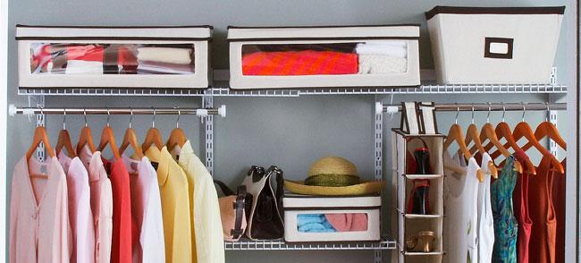 Formas para ordenar un closet peque o megalindas - Como organizar un armario pequeno ...