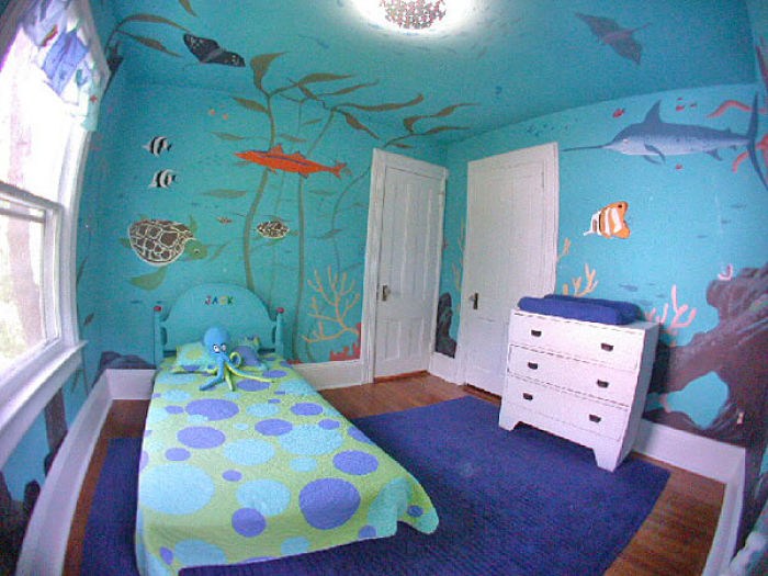 4 ideas para decorar una habitaci n infantil - Como decorar una pared de habitacion ...
