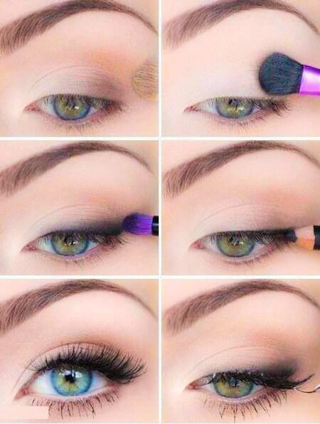 Pasos para un Maquillaje,de,Ojos,Natural,5