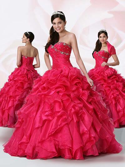vestidos elegantes de quinceañeras