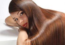 brillo del cabello