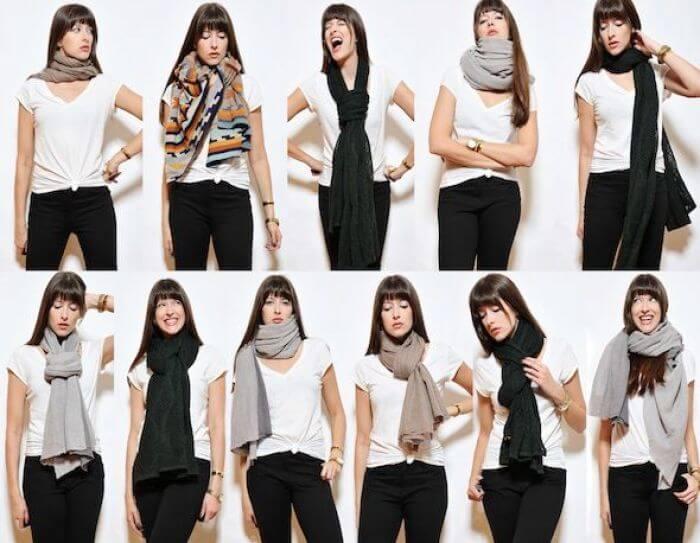 bufanda de moda
