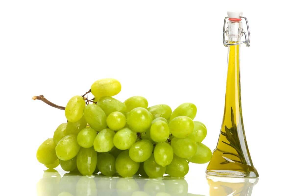 Aceite de uvas para acelerar el crecimiento del cabello
