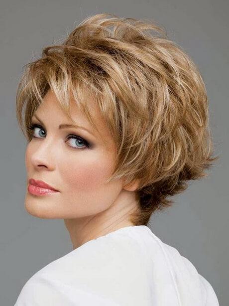 peinados para mujeres mayores de pelo corto
