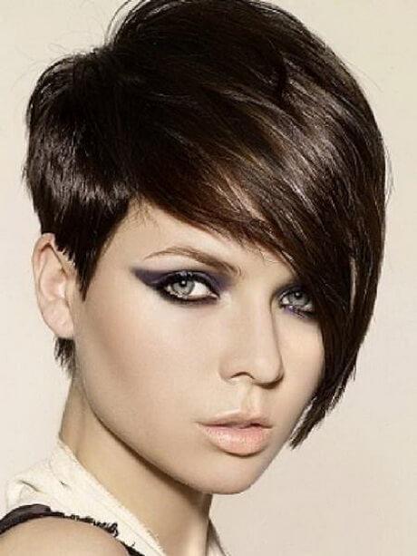 peinados de fiesta para cabello corto