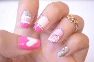 Pink-nails-unas-color-rosa-1