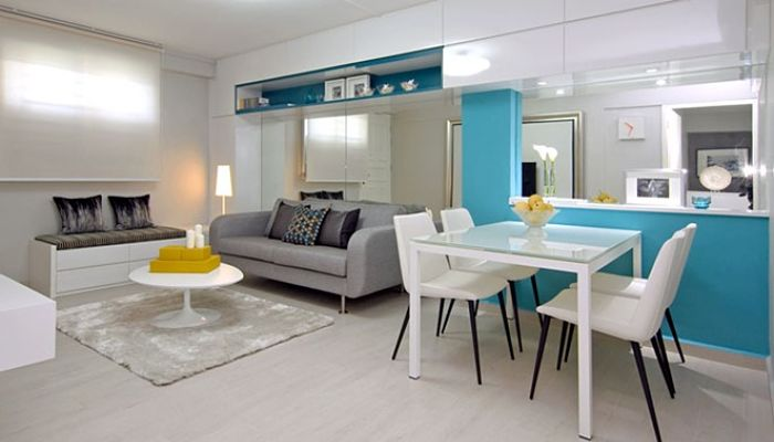 Decoracion de apartamentos peque os 9 tips geniales for Colores para apartamentos pequenos