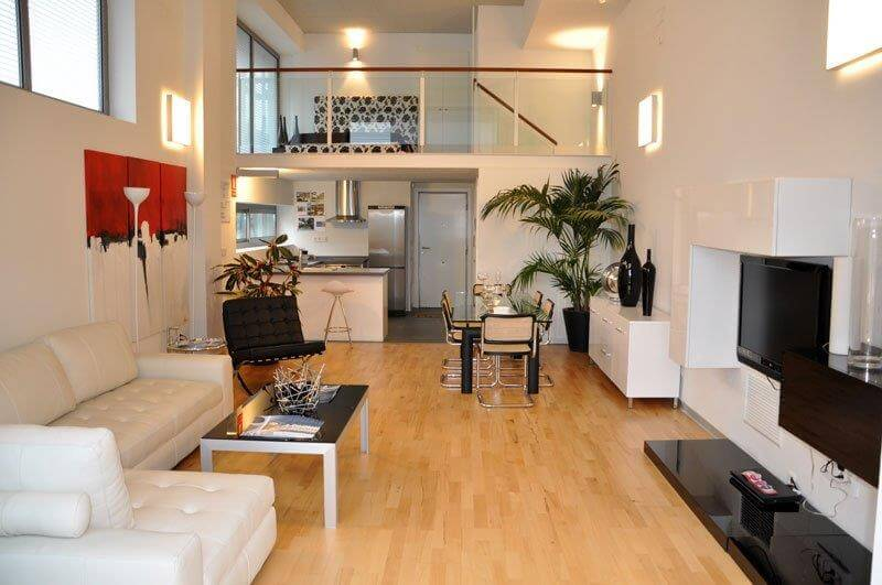 5 ideas para decorar un loft en la ciudad moderno y elegante for Decorar piso tipo loft