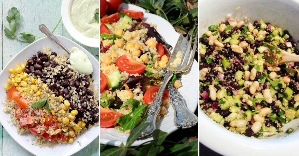 5 deliciosas ensaladas