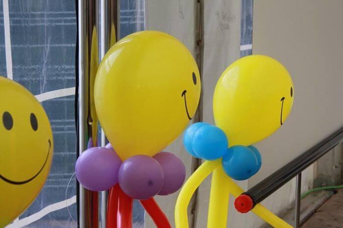 decoracion con globos personalizados